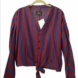 Rails Long Sleeves Button Down Top S/M